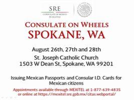 Mexican Consulate on Wheels in Spokane | Spokane Public Radio