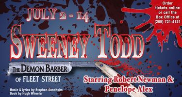 Sweeney Todd | July 2 – 14 | Michigan Radio
