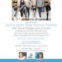 Grand Opening Celebration 200 Hour Yoga Teacher Training With Tamal Dodge At Yoga Salt Wilmington Whqr